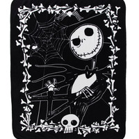 The Nightmare Before Christmas Jack Throw Blanket