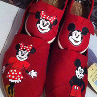 Mommy and Me Mickey and Minnie TOMS