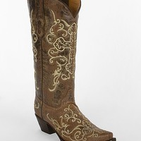 Corral Embroidered Cross Cowboy Boot