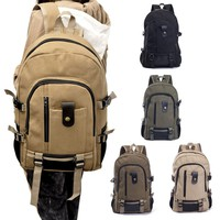 Canvas Men's Backpacks Outdoor Travel Bags Vintage Style Design School Casual Backpack