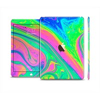 The Neon Color Fushion V3 Skin Set for the Apple iPad Air 2