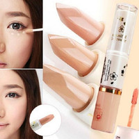 blemish dark eye circle cover liquid concealer Two end face Care long-lasting