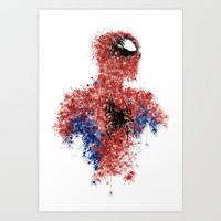 Spider's Den Art Print by Melissa Smith
