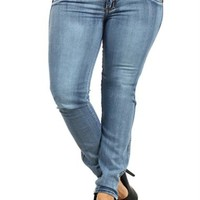 Plus Size Booty Lifter Designer Pocket Jeans, Plus Size Clothing, Club Wear, Dresses, Tops, Sexy Trendy Plus Size Women Clothes