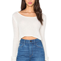 Cheap Monday Grid Sweater in Blindness