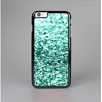 The Aqua Green Glimmer Skin-Sert for the Apple iPhone 6 Plus Skin-Sert Case