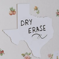 Medium Size State Shaped Dry Erase - Pick Your State