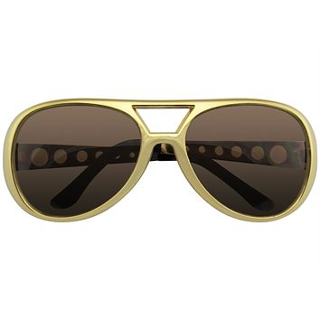 Rockstar Sunglasses Costume Party Novelty Sunglasses 60's Rock Star Classic Retro Sunglasses