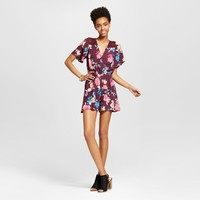 Women's V-Neck Romper - Xhilaration™ (Juniors')