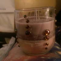 Soy island fruit / twilight scented candle.
