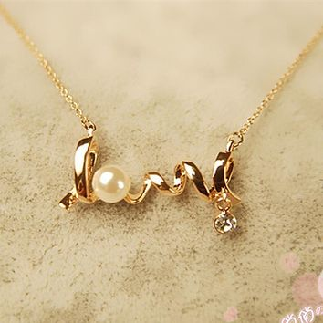 Language of Love Necklace