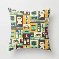 Sherlock | The Empty Hearse Throw Pillow by Risa Rodil