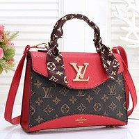 Women Fashion Scarf Handbag Crossbody Satchel
