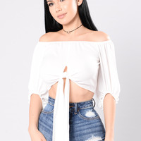 Your Chick Top - White