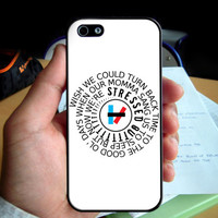 Twenty one pilots Stressed Out phone case for Iphone 4 4S 5 5S 6 6plus Samsung Galaxy S3 S4 S5 S6 S6Edge Note 3 Note 4 cover