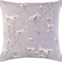 Enchanted Throw Pillow Purple, Neutral