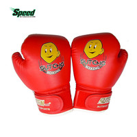 High Quality Child 1 Pair Durable Boxing Gloves Cartoon Sparring Kick Fight Gloves Training Fists PU Leather Muay Sandbag