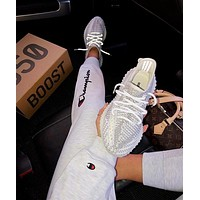 Adidas Yeezy 350 V2 Boots Static Fashion Women Men Casual Sport Gym Shoes Sneakers I/A