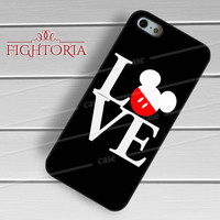 Disney mickey mouse love classic quote -Lsst for iPhone 6S case, iPhone 5s case, iPhone 6 case, iPhone 4S, Samsung S6 Edge