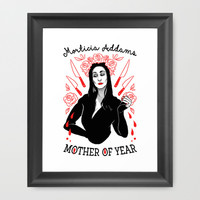 Mother of the Year Framed Art Print by LookHUMAN