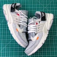 Off White X Nike Air Presto Silver Sport Running Shoes - Sale