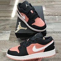Nike AIR Jordan 1st generation AJ1 men's and women's classic basketball shoes low-top casual sports shoes 3