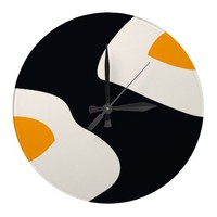 Fried Eggs - Round Wall Clock from Zazzle.com