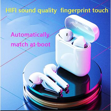 High quality iphone sports wireless bluetooth binaural headset