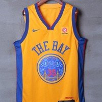 Golden State Warriors #35 Kevin Durant Nike City Edition NBA Jerseys