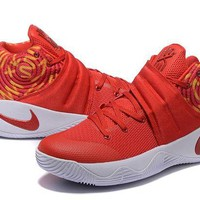 DCCK Nike Kyrie Irving 2 Chinese Red Basketball Shoe