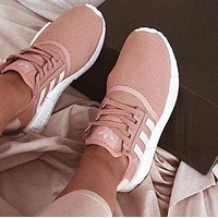 """""""Adidas"""" NMD Women Casual Running Sport Shoes Sneakers pink"""