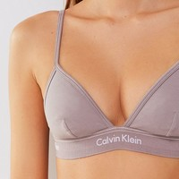 Calvin Klein Heritage Triangle Bralette | Urban Outfitters