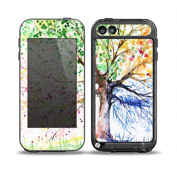 The WaterColor Vivid Tree Skin for the iPod Touch 5th Generation frē LifeProof Case