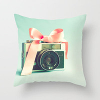 Forever young  Throw Pillow by Andrea Caroline