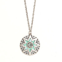 With Love From CA Mint Rhinestone Star Necklace at PacSun.com