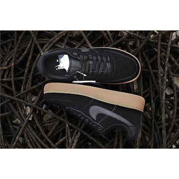 Nike Air Force 1 '07 LV8 SUEDE 35 Anni Black Raw AA1117-001