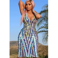 Vanda Sequin Dress(Ready To Ship)