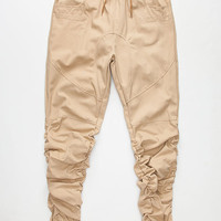 Uncle Ralph Bungee Mens Twill Jogger Pants Khaki  In Sizes