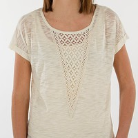 Eyeshadow Lace Inset Top