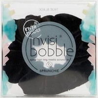 invisibobble Scrunchie True Black - Spiral Hair Ring Scrunchie