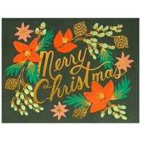 Rifle Paper Co. Wintergreen Christmas Boxed Cards