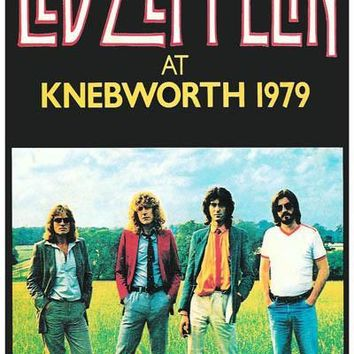 Led Zeppelin at Knebworth 1979 Poster 11x17