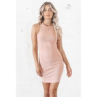 Pretty As A Peach Knit Midi Dress