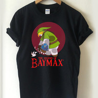 The legend of zelda baymax T-shirt Men, Women Youth and Toddler