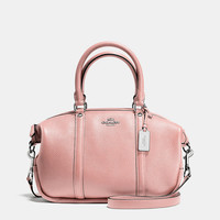 Coach Central Satchel in Polished Pebble Leather