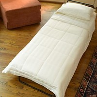 Folding Bed - Fold-Out Ottoman Bed Sleeper | Solutions