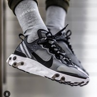 "Nike React Element 87 ""Anthracite"" Gym shoes"