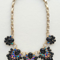 Midnight Sparkle Statement Necklace