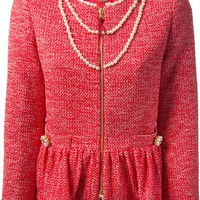 Moschino pearl embellished sweater