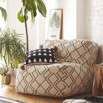 Bobo Patterned Lounge Chair